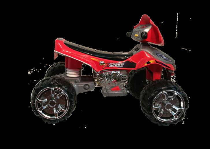 quad rosso